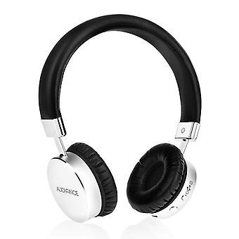 Audiance Premium M1-BT Bluetooth koptelefoon - zilver-zwart