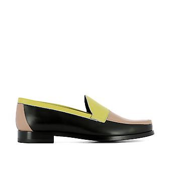 Pierre Hardy ladies ME01YELLOW multicolour leather moccasins