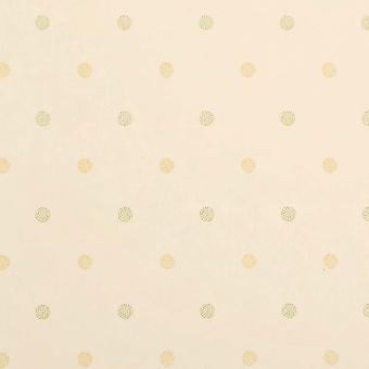 Sanderson Yellow & Green Wallpaper Roll - Patterned Dotted Design - DOPTDN109