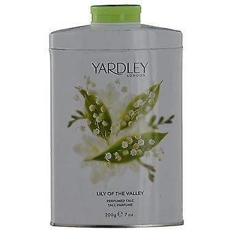 Yardley By Yardley Lily Of The Valley Talc 7 Oz (New Packaging)