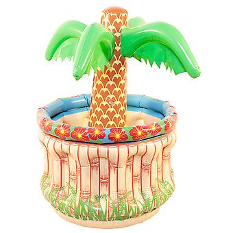 Beer cooler inflatable palm mini Deco cool summer beach party