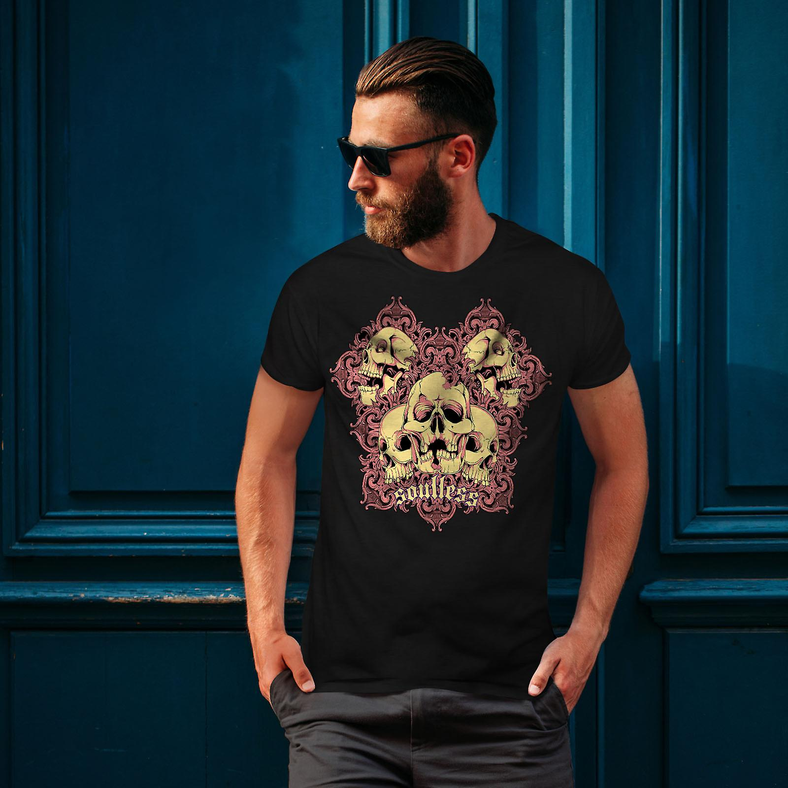 Goth sans âme mort BlackT-chemise homme | Wellcoda
