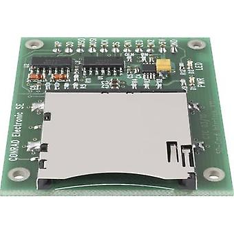 C-Control SD card interface 197220 SPI Compatible with: C-Contro