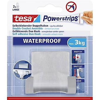TESA Powerstrips® impermeable Duo gancho Metal