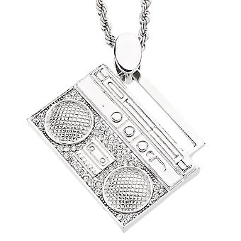 Iced out bling mini chain - OLD SCHOOL