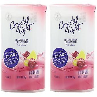 Crystal Light Raspberry Lemonade Drink Mix Pitcher Packs 2 Pack