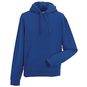 Russell Collection Mens Authentic Pull Over Hooded Sweatshirt Jumper