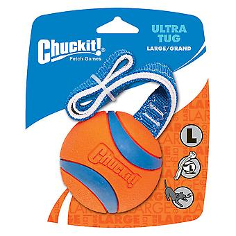 Chuckit Ultra Tug Large Ball 7.3cm, Ultra Dog and Puppy Toy
