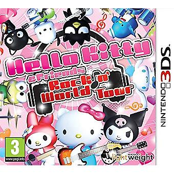 Hello Kitty and Friends Rocking World (Nintendo 3DS)