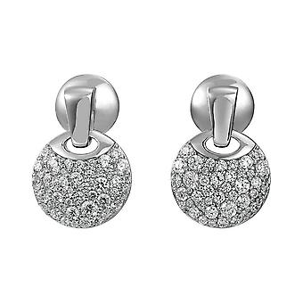 Joop women's earrings cubic zirconia DEMI JPER90282A000