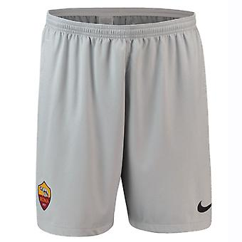 2018-2019 AS Roma Nike weg Shorts (grijs)