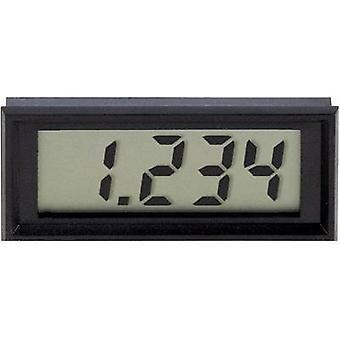 Digital rack-mount meter VOLTCRAFT 70004 LCD-panel-meter 70004 ±199.9 mV Assembly dimensions 60 x 24 mm