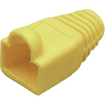 Kink protection sleeve RJ45 plug Bend relief Yellow BKL Electronic 143060 1 pc(s)