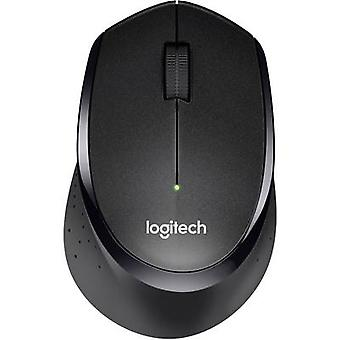 Logitech M330 Silent Plus Wireless Mouse Optical Black