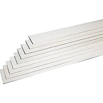 Balsa slat Graupner (L x W x H) 1000 x 100 x 3 mm 10 pc(s)