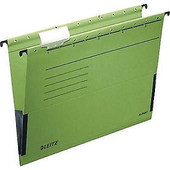 Leitz Suspension binder Alpha A4 Green 5 pcs/pack. 19863055 1 pack