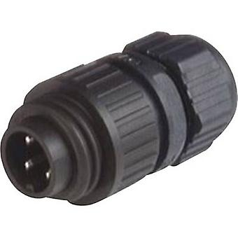 Hirschmann 934 124-100 CA 3 LS CA Series Mains Voltage Connector Nominal current (details): 16 A/AC/10 A/DC Number of pi