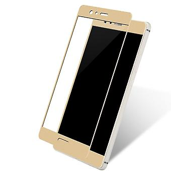 Huawei honor 9 3D armoured glass foil display 9 H protective film covers case gold