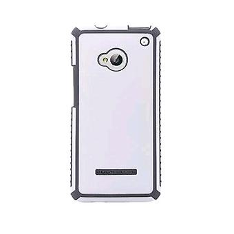 Body Glove Tactic Brushed Case for HTC One (White/Charcoal) - 9342201