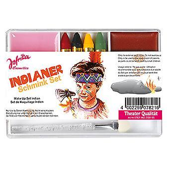 Maquillaje indio