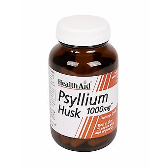 Health Aid Psyllium Husk 1000mg, 60 Vegicaps