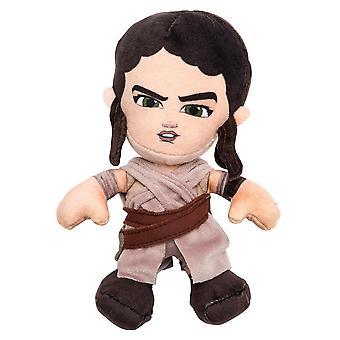 Star Wars plush figure Rey episode 7 100% polyester, Velvet plush Velboa, standing.