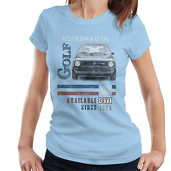 Official Volkswagen GTI 1976 Women's T-Shirt
