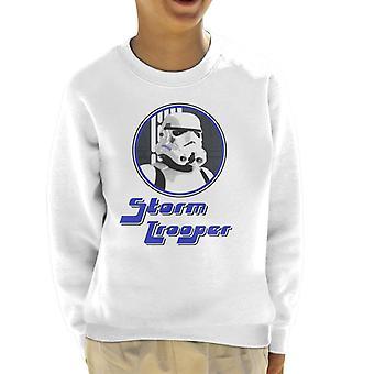 Original Stormtrooper 70er Jahre Retro-Kinder Sweatshirt