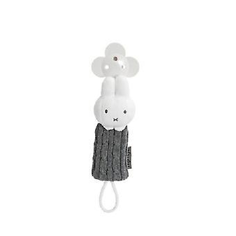 Tiamo Miffy weaning necklace grey gebre