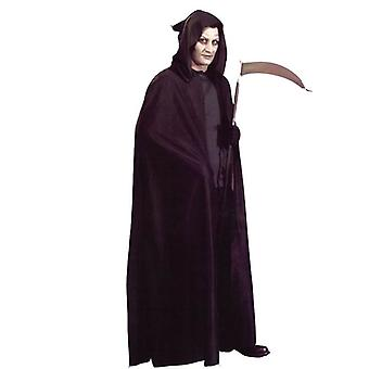 Bnov Hooded Cape Black