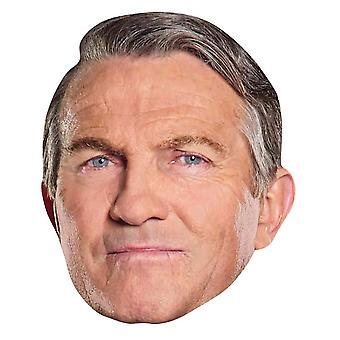 Graham from 13th Doctor Who Official Single 2D Card Party Face Mask