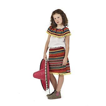 Mexican children costume Lupita girl costume kids