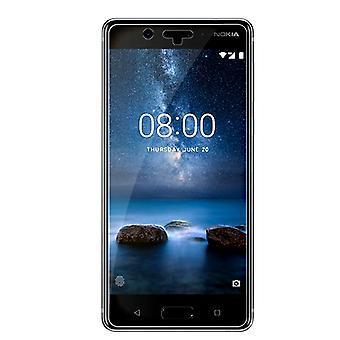 Nokia 8 gehärtetem Glas Displayschutzfolie Einzelhandel