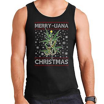 Merry Juana Christmas Men's Vest