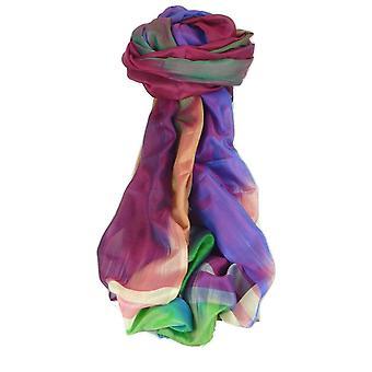 Varanasi Ekal premie silke skjerf Heritage langtrekkende Tamwar 9 av Pashmina & Silk