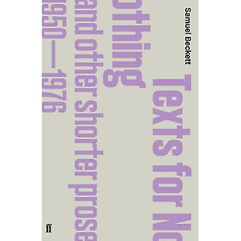 Texts for Nothing and Other Shorter Prose - 1950-1976 - AND Fizzles (M