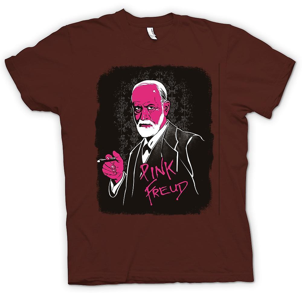 Mens T-shirt - Pink Floyd - Sigmund Freud - lustig
