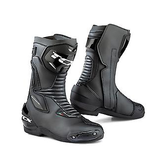 TCX Black SP-Master Motorcycle Boots