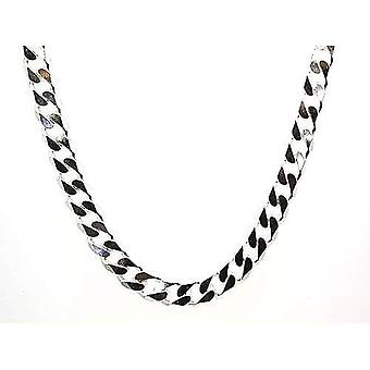 Toc Sterling Silver Gents 95 Gram Heavy Chunky Curb 20 Inch Necklace