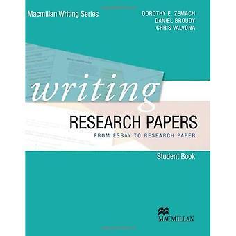 Escrever artigos de pesquisa