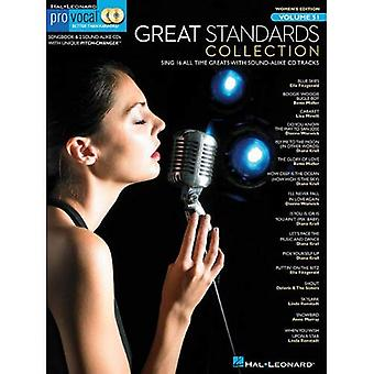 Great Standards Collection [With 2 CDs] (Hal Leonard Pro Vocal (Numbered))