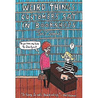 Rare dingen klanten zeggen in de boekhandel