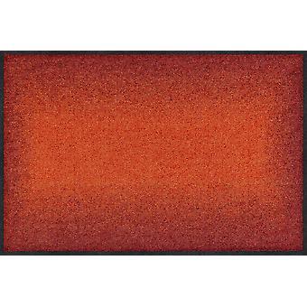 Salon Leeuw deurmat kleurovergang terra deur tapijt loper
