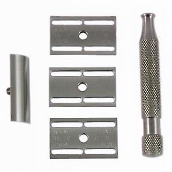 Above The Tie Kronos 5 Piece Stainless Steel Safety Razor Set