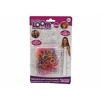 Party Bag/Favour/Lucky Dip Friendship Rubber Band Loom Jewellery Maker Kit Pack Of 96 Kits