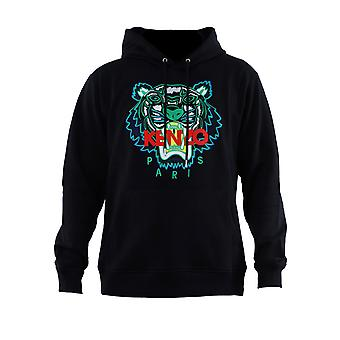 Kenzo Black Cotton Sweatshirt