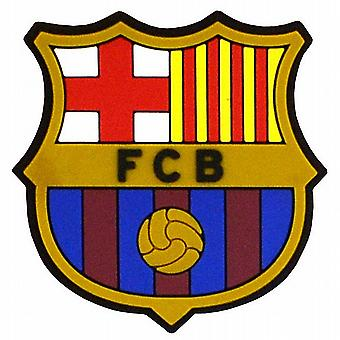 FC Barcelona Crest rubber fridge magnet  50mm x 50mm  (spg)