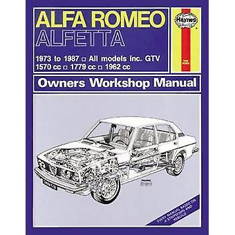 Alfa Romea Alfetta All Models Owners Workshop Manual - 1973-87 (2nd Re