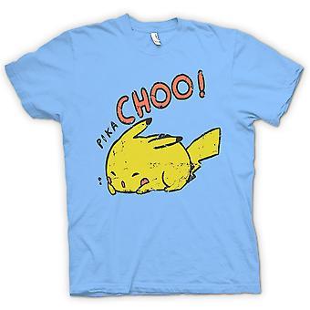 Womens T-shirt - Pika Choo - Pikachu Pokemon Inspired