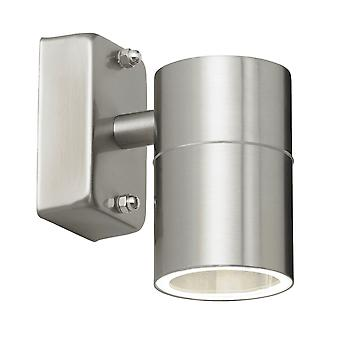 Endon Lighting Canon IP44 Exterior Downlight In Stainless Steel